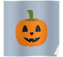 Classic Halloween pumpkin Poster