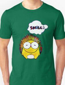Happy Hedgehog with Smile Unisex T-Shirt