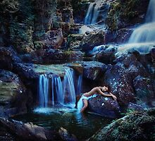 waterfall by jamari  lior