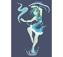 Magical Girl - Water Photographic Print