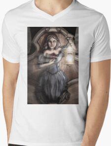 Bow Maiden Mens V-Neck T-Shirt