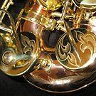 Engravings on Monarch Windsor Saxophone by BlueMoonRose