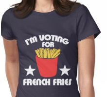 I'm voting for French  Womens Fitted T-Shirt