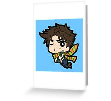 Joseph Joestar Greeting Card
