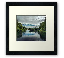 St James Park London with London Eye Framed Print