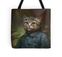 The Hermitage Court Confectioner Apprentice Cat  Tote Bag