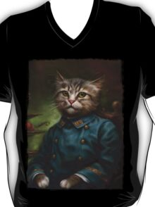 The Hermitage Court Confectioner Apprentice Cat  T-Shirt