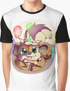 Birthday party Growlithe Graphic T-Shirt