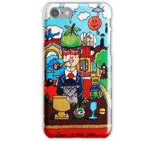 Magritte Tribute Collection Handmade iPhone Case/Skin