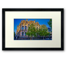 The Law Courts Building and Old Town Hall - Bendigo, Victoria Framed Print