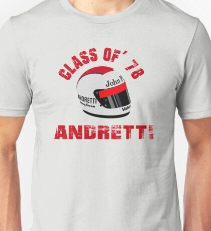 1978 F1 WORLD CHAMPION MARIO ANDRETTI Unisex T-Shirt