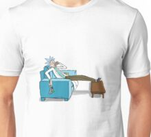 Chillin' Rick Sanchez Unisex T-Shirt