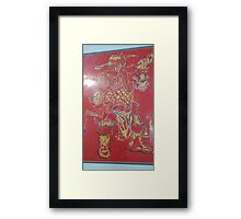 Dwarf Warrior Framed Print