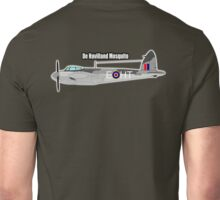 De Havilland Mosquito, RAF, WWII, Fighter, Bomber, Wold War II, British, multi-role, combat, aircraft Unisex T-Shirt