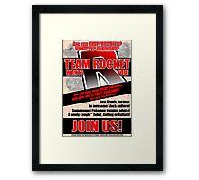 Pokemon - Team Rocket Recruitment Framed Print
