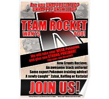 Pokemon - Team Rocket Recruitment Poster