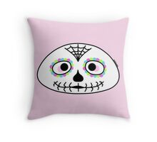 Mexican sugar skull - Halloween collection Throw Pillow