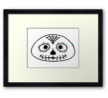 Mexican sugar skull - Halloween collection Framed Print