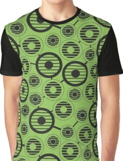 Retro pattern with circles, geometric, abstract Graphic T-Shirt