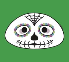 Mexican sugar skull - Halloween collection One Piece - Short Sleeve