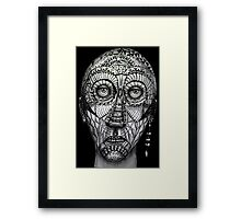 Tattoo man Framed Print