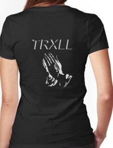 """PREY"" 6GOD TRXLL Design Womens Fitted T-Shirt"