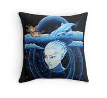 Interpretation of dreams is a great art. Throw Pillow