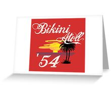 Bikini Atoll Greeting Card