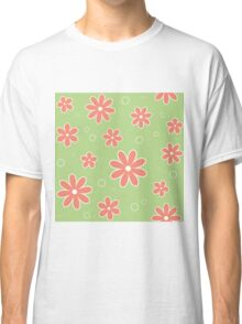 The pattern in flowers of camomile Classic T-Shirt