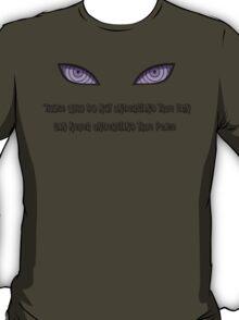 Pein, Nagato, Rinnegan Eyes (Black) Naruto T-Shirt