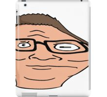 Hank Hill distorted  iPad Case/Skin
