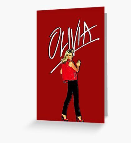 OLIVIA NEWTON-JOHN - 70's Totally Hot Greeting Card