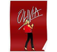 OLIVIA NEWTON-JOHN - 70's Totally Hot Poster