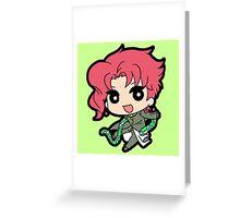 Noriaki Kakyoin  Greeting Card
