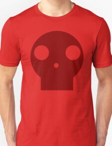 Red Skull Cartoon Unisex T-Shirt