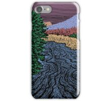 South Upper Truckee River iPhone Case/Skin
