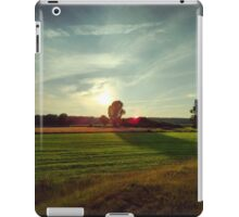 Appeln, north German countryside iPad Case/Skin