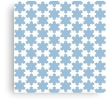 Snow pattern Canvas Print