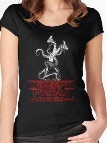 Stranger - Demogorgon is coming Women's Fitted Scoop T-Shirt