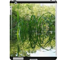 Grass Reflecting in the Water iPad Case/Skin
