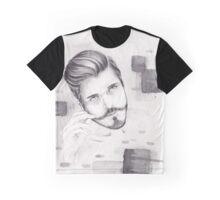 Stache Graphic T-Shirt