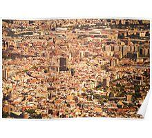 Barcelona City, Spain Poster