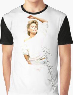 Olivia Newton-John 1982 Graphic T-Shirt