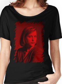 Gillian Anderson - Celebrity Women's Relaxed Fit T-Shirt