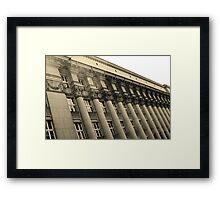 Columns - Krakow, Poland Framed Print