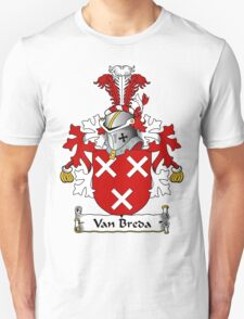 Van Breda Coat of Arms (Dutch) T-Shirt