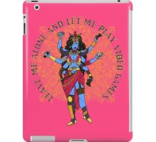 The Video Game Goddess iPad Case/Skin
