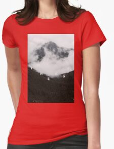 Jump Into The Fog Womens Fitted T-Shirt