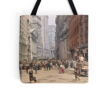 Curb Market in NYC, ca 1900 Tote Bag