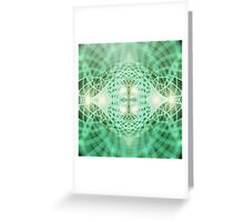 Eternal Geometry Dreams Greeting Card